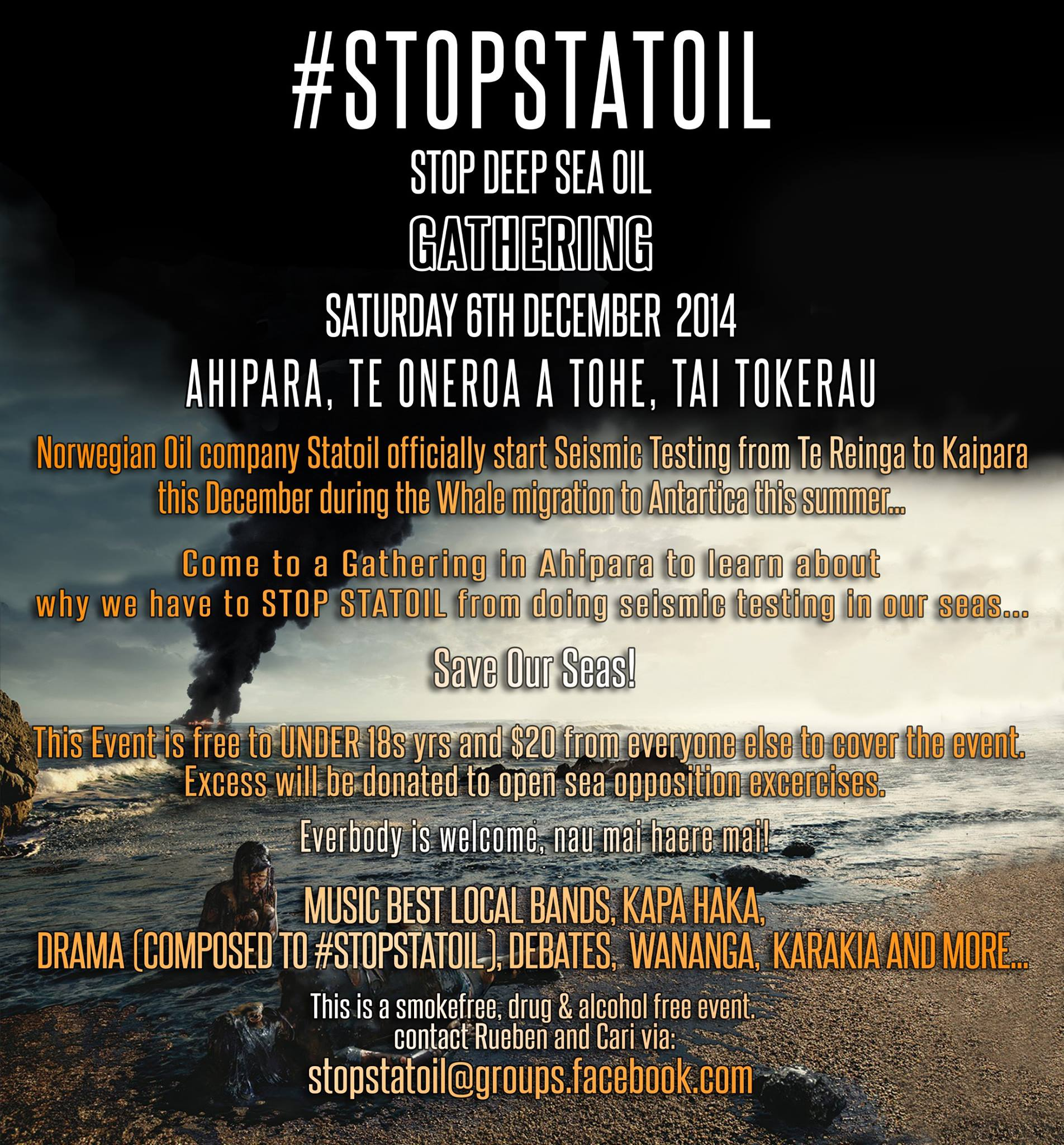 #STOPSTATOIL