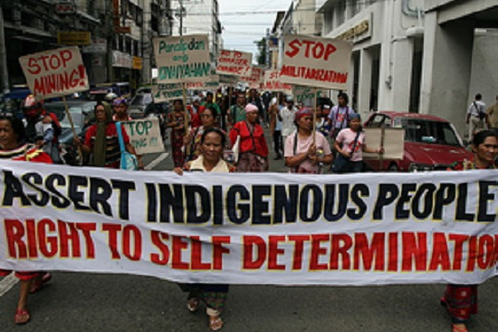 Indigenous rights is separatism?