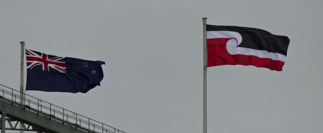 New Zealand to have a 'two flag' policy.