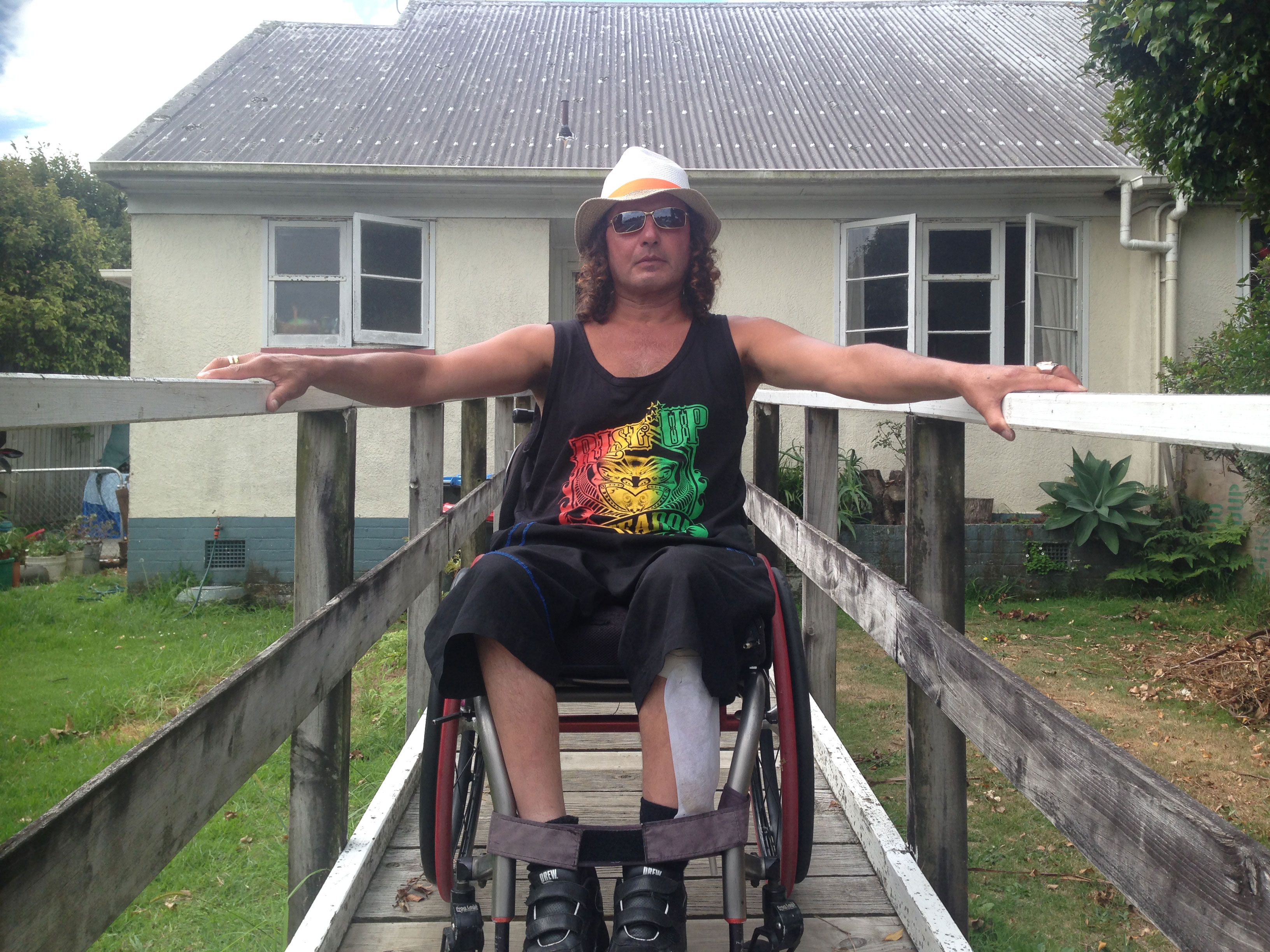 Housing New Zealand to evict disabled man in wheelchair
