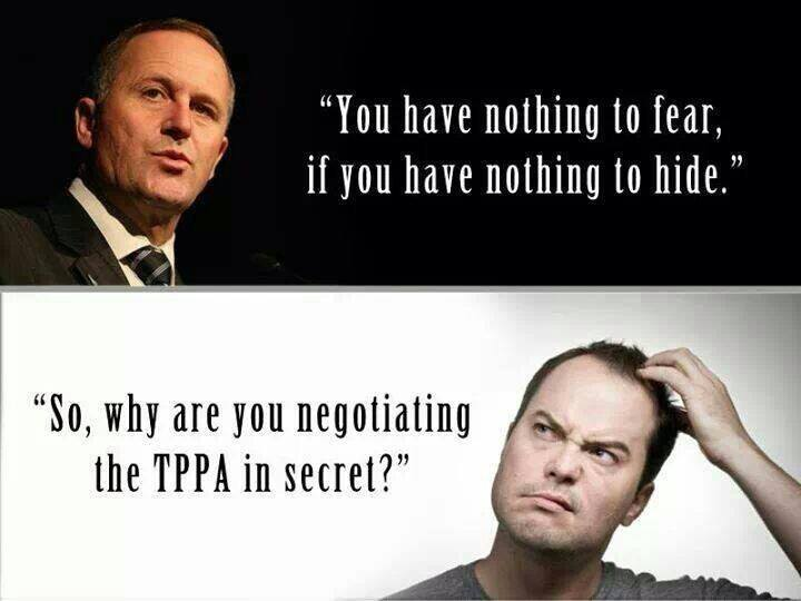 JOIN THE NATION – SAY 'NO' TO THE TPPA