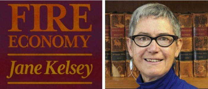The FIRE Economy the launch of Jane Kelsey's new book