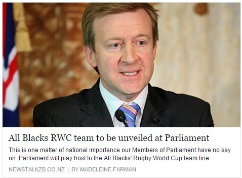 Are the All Blacks all blue?
