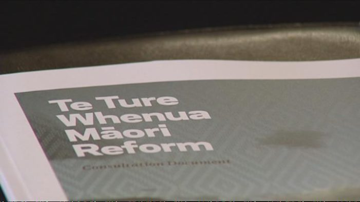 Ture Whenua Maori Bill Withdrawn from Parliament